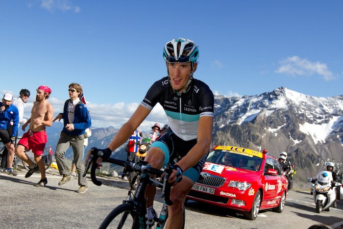 Andy Schleck 1 km to go Galibier highest finish ever at Tour de France