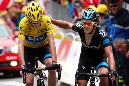 Froome and Porte