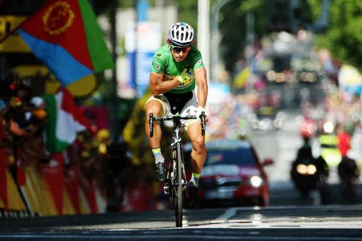 Peter Sagan came second for the fifth time at the 2015 Tour de France