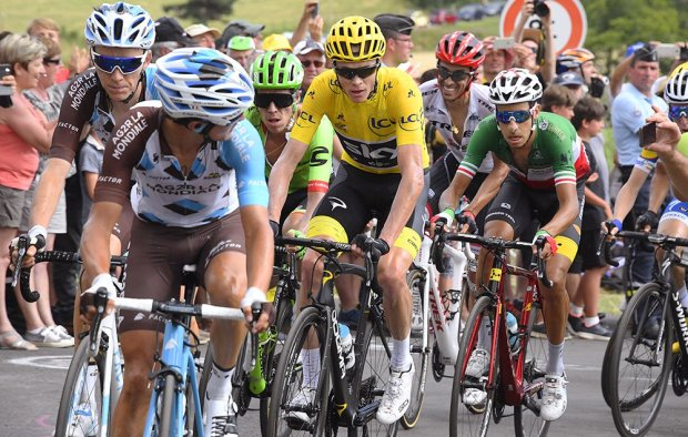 Bardet Froome Aru