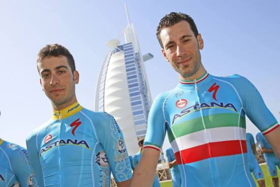 Aru and Nibali