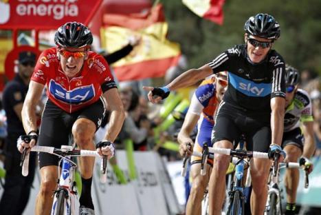 Chris Froome Vuelta 2011