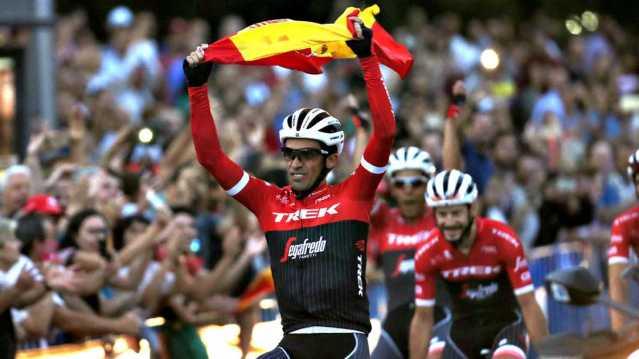 Contador Vuelta Spain