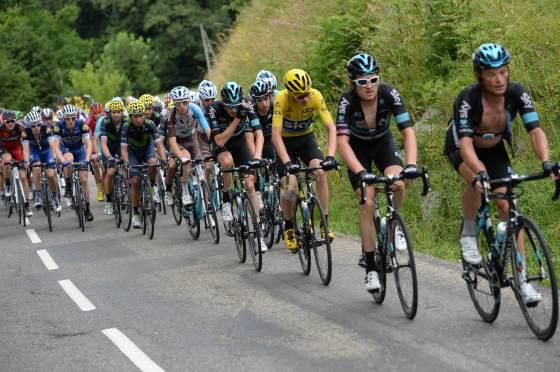 23-07-2016 Tour De France; Tappa 20 Megeve - Morzine; 2016, Team Sky; Froome, Christopher; Col De La Ramaz;