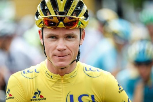 Chris Froome Yellow